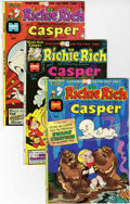 Bronze Age (1970-1979):Cartoon Character, Richie Rich and Casper #1-45 File Copy Group (Harvey, 1974-82)Condition: Average NM.... (Total: 45 Comic Books)