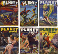 Books:Periodicals, Planet Stories (Fiction House, 1940-55) Group of 64....(Total: 64 Items)