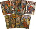 Books:Periodicals, Captain Future (Standard, 1940-44) Group of Ten.... (Total:10 Items)