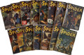 Books:Periodicals, The Spider (Popular, 1942-43) Group of 15.... (Total: 15 Items)