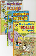 Bronze Age (1970-1979):Cartoon Character, Richie Rich and Dollar the Dog #1-24 File Copy Group (Harvey,1977-82) Condition: Average NM.... (Total: 24 Comic Books)