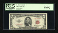 Small Size:Legal Tender Notes, Fr. 1535* $5 1953C Legal Tender Star Note. PCGS Superb Gem New 67PPQ.. ...
