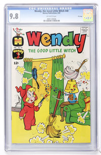 Wendy, the Good Little Witch #40 File Copy (Harvey, 1967) CGC NM/MT 9.8 Off-white pages