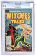 Golden Age (1938-1955):Horror, Witches Tales #10 File Copy (Harvey, 1952) CGC FN- 5.5 Slightly brittle pages....