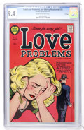 Golden Age (1938-1955):Romance, True Love Problems and Advice Illustrated #33 File Copy (Harvey, 1955) CGC NM 9.4 Cream to off-white pages....