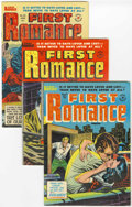 Golden Age (1938-1955):Romance, First Romance Magazine #25-28 File Copy Group (Harvey, 1954)Condition: Average VF+.... (Total: 4 Comic Books)