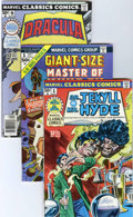 Bronze Age (1970-1979):Classics Illustrated, Marvel Classics Comics and Master of Kung Fu Group (Marvel,1974-76) Condition: Average NM.... (Total: 15 Comic Books)