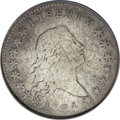 Early Half Dollars, 1794 50C --Obverse Scratched, Improperly Cleaned--NCS. VGDetails....