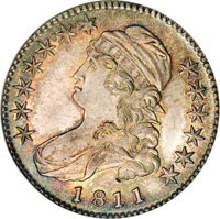 1811 50C Small 8 MS68 NGC. CAC....(PCGS# 6097)