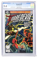 Modern Age (1980-Present):Superhero, Daredevil #168 (Marvel, 1981) CGC NM 9.4 Off-white to whitepages....