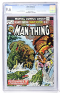 Bronze Age (1970-1979):Horror, Man-Thing #3 (Marvel, 1974) CGC NM+ 9.6 Off-white to whitepages....