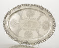 Silver & Vertu:Hollowware, AN AMERICAN SILVER TRAY. Tiffany & Co., New York, New York, circa 1898. Marks: TIFFANY & CO., 13561 MAKERS 2257, STERLING-...