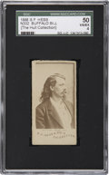 Non-Sport Cards:General, 1888 N332 S.F. Hess Buffalo Bill SGC 50 VG/EX 4....