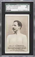 Boxing Cards:General, 1887 N269 Lorillard's #11 Billy Edwards SGC 50 VG/EX 4. ...