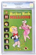 Bronze Age (1970-1979):Cartoon Character, Richie Rich Millions #45 File Copy (Harvey, 1971) CGC NM/MT 9.8 Off-white to white pages....