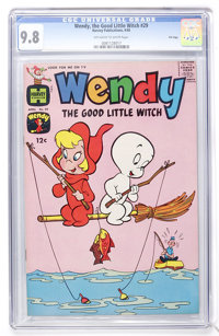 Wendy, the Good Little Witch #29 File Copy (Harvey, 1965) CGC NM/MT 9.8 Off-white to white pages