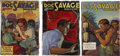 Books:Periodicals, Doc Savage (Street & Smith, 1933) Group of Three.... (Total: 3 Items)