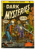 Golden Age (1938-1955):Horror, Dark Mysteries #20 (Master Publications, 1954) Condition: VG....