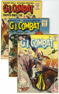 Golden Age (1938-1955):War, G.I. Combat Group (Quality/DC, 1954-57).... (Total: 6 Comic Books)