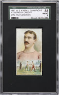 """Boxing Cards:General, 1887 N184 W.S. Kimball """"Champions"""" Patsy Cardiff SGC 88 NM/MT 8...."""