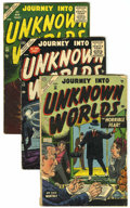 Golden Age (1938-1955):Horror, Journey Into Unknown Worlds Group (Atlas, 1953-57).... (Total: 4Comic Books)