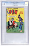 Magazines:Humor, Army & Navy Fun Parade #91 File Copy (Fun Parade, 1959) CGC VF/NM 9.0 Cream to off-white pages....