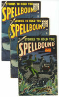 Golden Age (1938-1955):Horror, Spellbound #21 and 30 Group (Atlas, 1954-55).... (Total: 3 Comic Books)