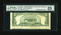 Error Notes:Skewed Reverse Printing, Fr. 1962-L $5 1950A Federal Reserve Note. PMG Very Fine 25.. ...
