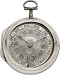 Timepieces:Pocket (pre 1900) , Richard Trap London Early Verge Fusee, circa 1750. ...