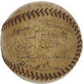 Autographs:Baseballs, 1935 Detroit Tigers Team Signed Baseball....