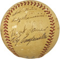 "Autographs:Baseballs, 1949 ""Home Run Hitters"" Signed Baseball with Campanella, Hodges...."