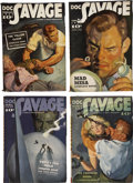Books:Periodicals, Doc Savage (Street & Smith) 1939 Complete Run....(Total: 12 Items)
