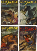 Books:Periodicals, Doc Savage (Street & Smith) Complete 1936 Run....(Total: 12 Items)