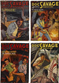Books:Periodicals, Doc Savage (Street & Smith) Complete 1937 Run.... (Total: 12 Items)