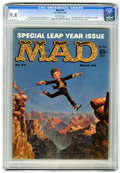 Magazines:Mad, Mad #53 (EC, 1960) CGC NM 9.4 Off-white pages....