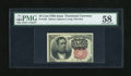 Fractional Currency:Fifth Issue, Fr. 1265 10c Fifth Issue PMG Choice About Unc 58....