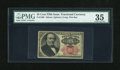 Fractional Currency:Fifth Issue, Fr. 1308 25c Fifth Issue PMG Choice Very Fine 35....