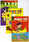 Bronze Age (1970-1979):Cartoon Character, Porky Pig File Copy Group (Gold Key, 1974-80) Condition: AverageNM-.... (Total: 37 Comic Books)
