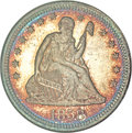Proof Seated Quarters, 1858 25C PR67 NGC....