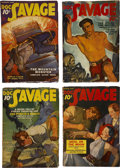 Books:Periodicals, Doc Savage (Street & Smith) 1938 Complete Run....(Total: 12 Items)