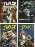 Books:Periodicals, Doc Savage (Street & Smith, 1944-48) Complete Run....(Total: 47 Items)