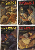 Books:Periodicals, Doc Savage (Street & Smith) Complete 1935 Run....(Total: 12 Items)