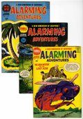 Silver Age (1956-1969):Horror, Alarming Adventures #1-3 File Copy Group (Harvey, 1962-63)Condition: Average VF+.... (Total: 3 Comic Books)