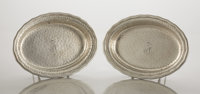 A PAIR OF AMERICAN SILVER SERVING DISHES Tiffany & Co., New York, New York, circa 1880 Marks: TIFFANY & CO