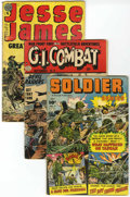 Golden Age (1938-1955):War, Miscellaneous Golden Age War/Western Group (Various Publishers,1952-69) Condition: Average VG.... (Total: 13 Comic Books)