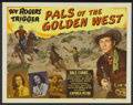 """Movie Posters:Western, Pals of the Golden West (Republic, 1952). Half Sheet (22"""" X 28""""). Western...."""