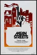 "Movie Posters:Crime, Mean Streets (Warner Brothers, 1973). One Sheet (27"" X 41""). Crime...."