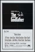 """Movie Posters:Crime, The Godfather (Paramount, 1972). One Sheet (27"""" X 41""""). Crime...."""
