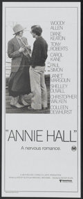 "Movie Posters:Academy Award Winner, Annie Hall (United Artists, 1977). Australian Daybill (12.25"" X30""). Academy Award Winner...."