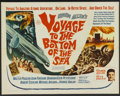 "Movie Posters:Adventure, Voyage to the Bottom of the Sea (20th Century Fox, 1961). HalfSheet (22"" X 28""). Adventure...."